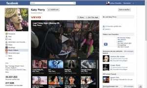 Katy Perry - Facebook Engagement