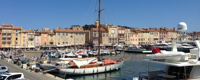 Hafen in Saint-Tropez