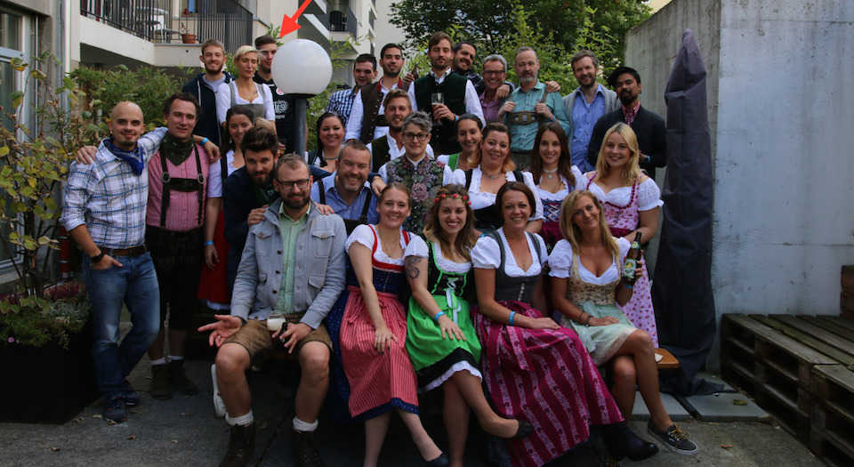 We Are Social beim Oktoberfest